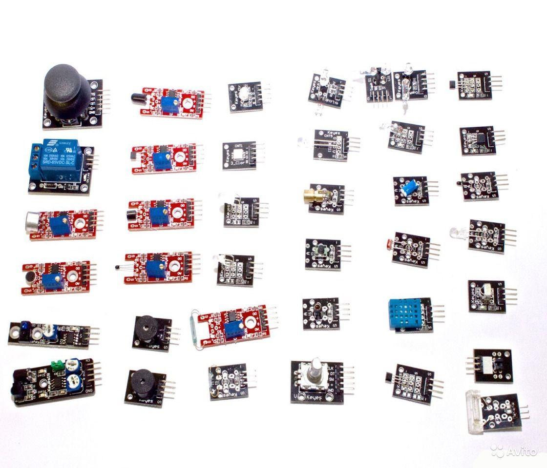 """Набор из 37 модулей, датчиков для Arduino  - Интернет-магазин """"Ценовал"""" в Львове"""