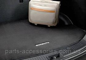 Коврик в багажник велюровый Kia Sorento 2009-13 на 5 пассажиров новый оригинал