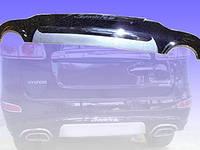 Накладка на бампер пластик Hyundai Santa Fe 2006-2012