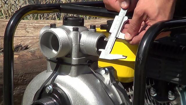 Высоконапорная Мотопомпа Sadko WP-5065P (h=65 m) фото 12