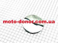 Крышка головки цилиндра, где звезда распредвала (круглая)  для мопеда DELTA 70сс