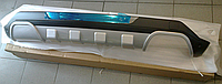 Накладка на задний бампер Hyundai IX45 2012-