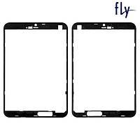 Рамка сенсора для Fly Flylife Connect 7.85 3G Slim, оригинал (черная)