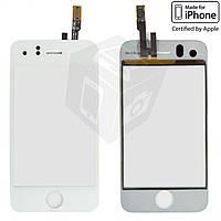 Сенсорный экран (touchscreen) для iPhone 3GS, белый, оригинал