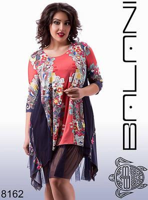 Платья женское в цветочный принт, фото 2