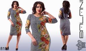 Платье женское с цветами, фото 2