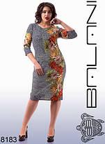 Платье женское с цветами, фото 3