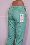 Женские летние брюки бирюзового цвета Moon girl (код 6200), фото 7