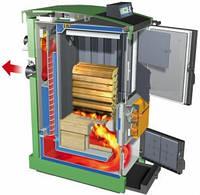 Котёл пиролизный газогенераторный длительного горения 50 кВт