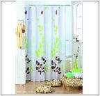 Карнизы и шторы для ванной