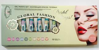 "Набор гель красок Global ""Pastel Prings"""