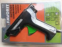 Клейовий пістолет 65w Favorit 12-101 для стрижнів 11мм .Київ.