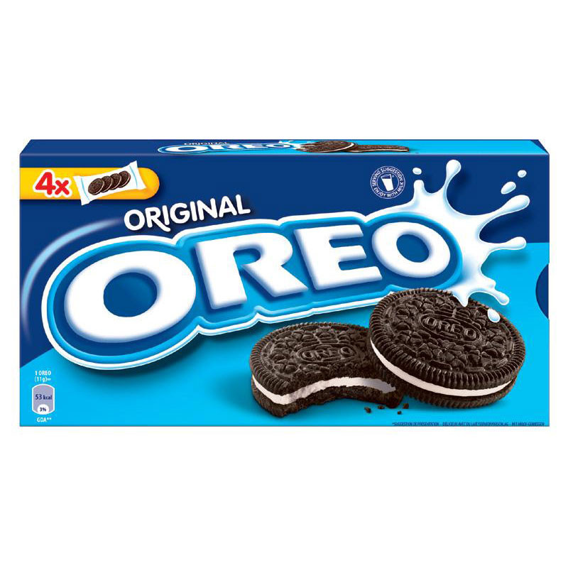 Печенье Oreo Original 16 штук, 176г