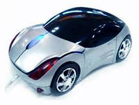 Беспроводная мышка машинка мышь mouse-c Silver,Red,Blue,Black