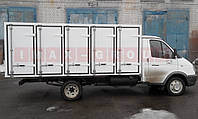 Хлебный фургон на а/м ГАЗ-3302 120 л.