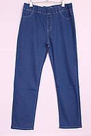 Женские джинсы большого размера без застежки пояс на резинке, фото 1
