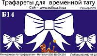 Трафарет для Био Тату 20*9 Б14 ( одноразовый)