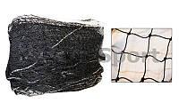 Сетка  для большого тенниса  (нейлон, р-р 12,8x0,95м, ячейка р-р 5x5см, с метал.тросом)
