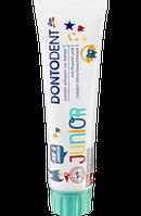 DONTODENT Zahnpasta Junior 6+ - Детская зубная паста  с мягким вкусом мяты от 6 лет,  100 мл