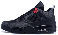 Баскетбольные кроссовки Air Jordan 4 (Найк Аир Джордан) черные