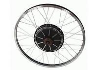 Электрокомплект EK48/500E с прямым приводом 48В 500Вт для установки на заднее колесо велосипеда , фото 1