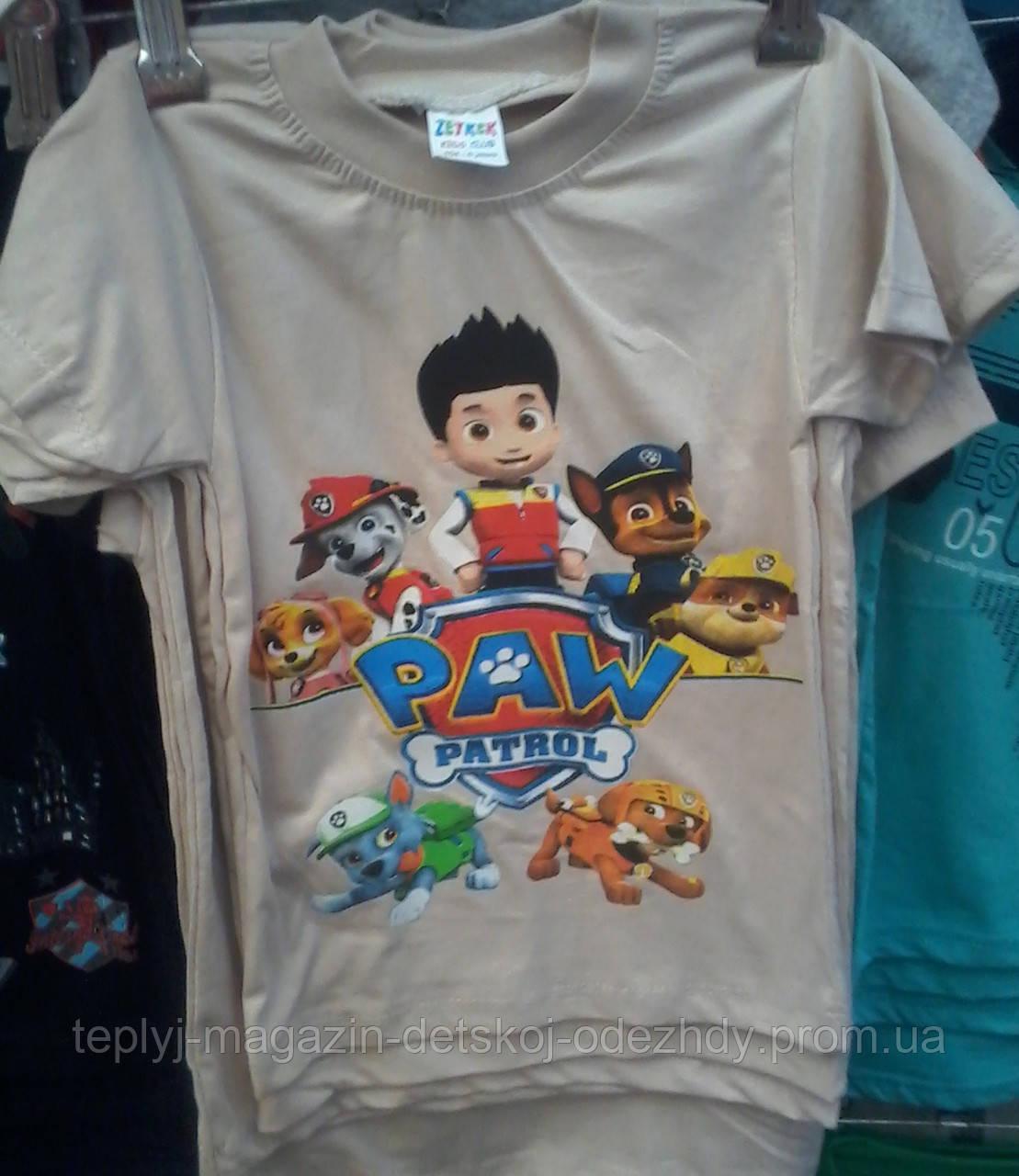 Детские футболки Paw Patrol опт и розница e8ab8fca85054