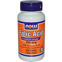 Фолиевая кислота Folic Acid 800 mkg (250 tabs)