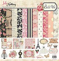 Набор бумаги для скрапбукинга Photo Play - Belle Vie,  BV2210