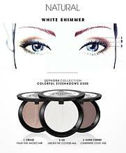 Схемы для серых и голубых глаз