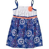 Платье-сарафан Синяя птица