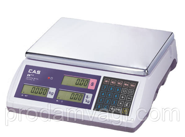 Весы торговые электронные ER-Plus. CAS