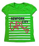 "Футболка для девочки ""Нью-Йорк"""