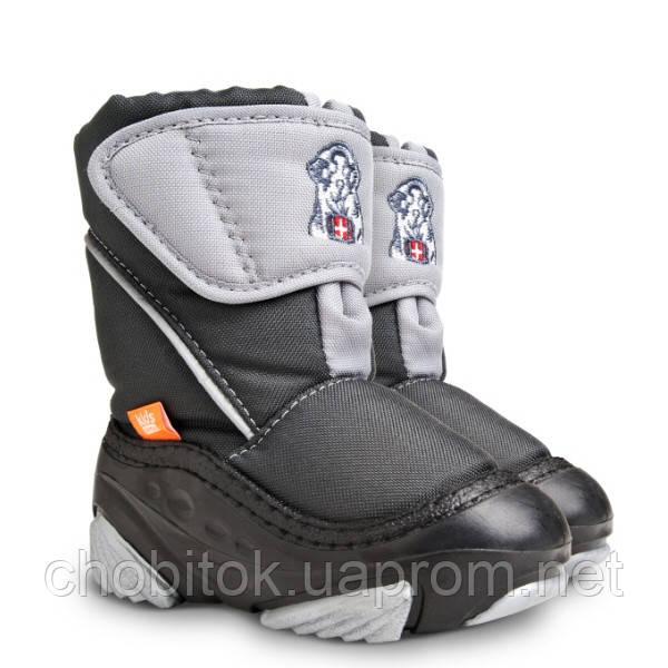 Детские зимние дутики DEMAR DOGGY c(цвет серый) - купить по лучшей ... 79be328cee547