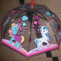 Зонт детский грибок пони, фото 1