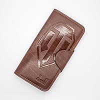Стильные портмоне-клатч WORLD of TANKS мужской кошелек