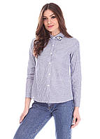 Качественная женская рубашка с длинным рукавом