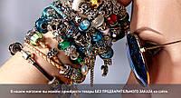 Браслет женский PANDORA кожаные цветные ремешки Пандора