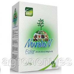 NOVALON FOLIAR (Новалон Фолиар) 20-20-20+0,5MgO+МЕ 1 кг