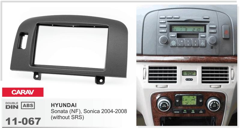 рамка hyundai sonata 2004