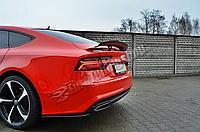 Диффузор заднего бампера Audi A7 S-Line
