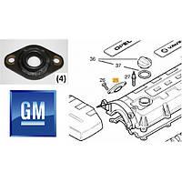Заглушка (накладка, крышка, прокладка) форсунки на клапанной крышке головки блока цилиндров ГБЦ боковая OPEL ASTRA-G CORSA-C COMBO MERIVA-A Y17DT