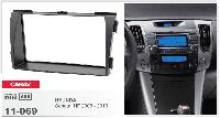 2-DIN переходная рамка HYUNDAI Sonata (NF) 2008-2010, CARAV 11-069