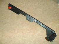 Направляющая (кронштейн , крепление , рейка) переднего бампера левая (соединяет передний бампер с левым крылом) GM 1406545 1406539 13140760 24401411