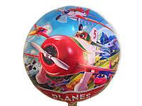 Воздушный фольгированный шар Летачки диаметр 45 см.
