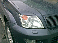 Реснички Toyota Prado 120, Накладки на фары Прадо 120