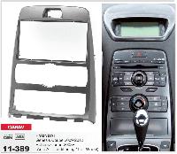 2-DIN переходная рамка HYUNDAI Genesis Coupe 2009-2012, Rohens Coupe 2008+ (Auto Air-Conditionin, CARAV 11-389