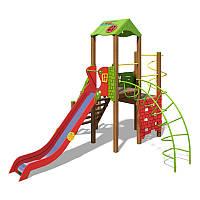 """Игровой комплекс  """"Башня-NEW"""" зелено-красный"""