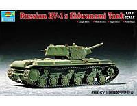 Сборная модель танка КВ-1C  с экранами  1/72