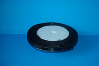 Лента атласная 0,5 см с люрексом №39