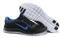 Кроссовки Nike Free 3.0 V6 black-blue